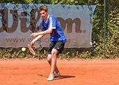Tennis Mannschaftstraining